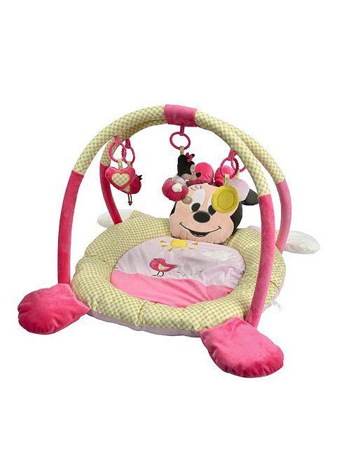 Manta de actividades Minnie                             rosa