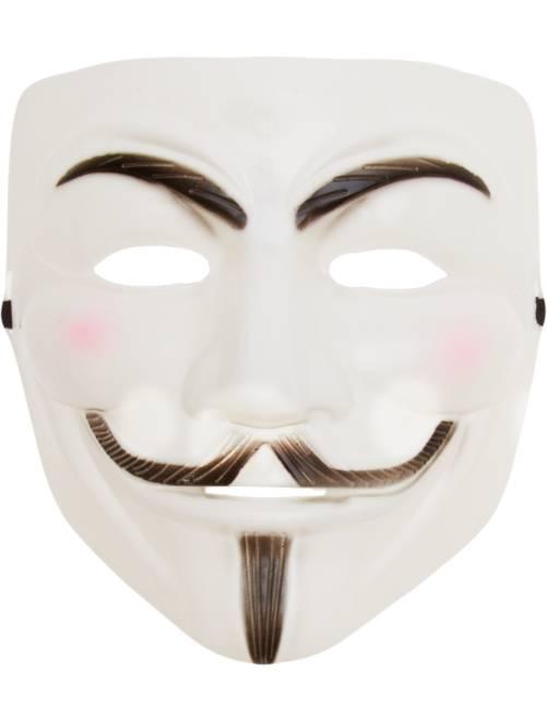 Máscara Anonymous                             blanco