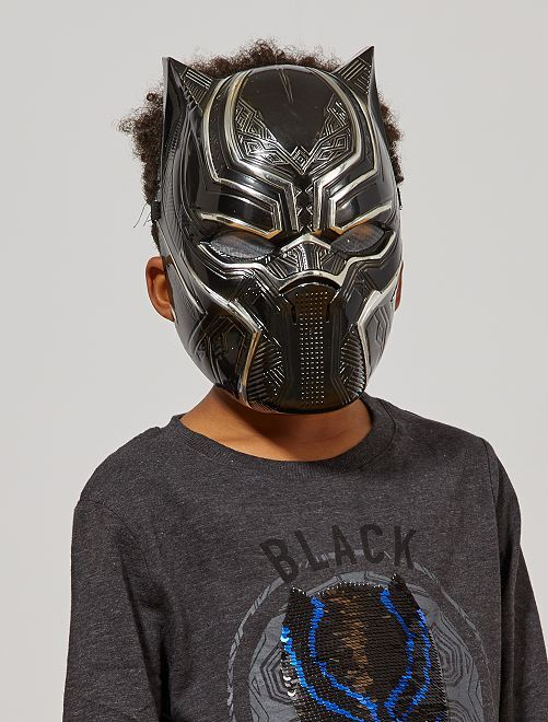 Máscara 'Black Panther'                             negro