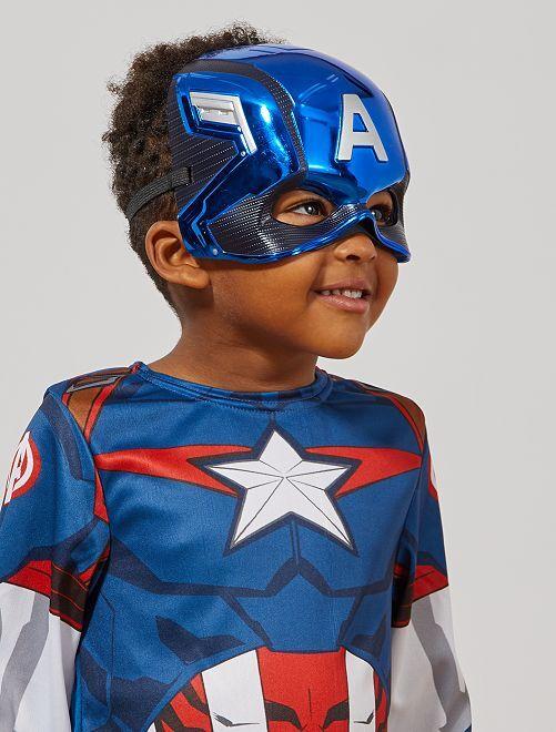 Máscara 'Capitán América'                             azul
