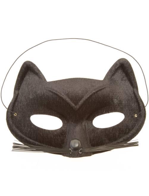 Máscara de gato                             negro