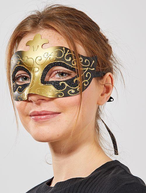 Máscara veneciana                             NEGRO