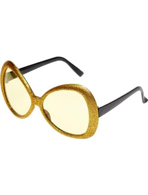 Maxi gafas de purpurina                                         dorado
