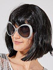Maxi gafas de purpurina