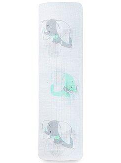 Maxi-manta de bebé de algodón puro con estampado de 'Disney Baby'