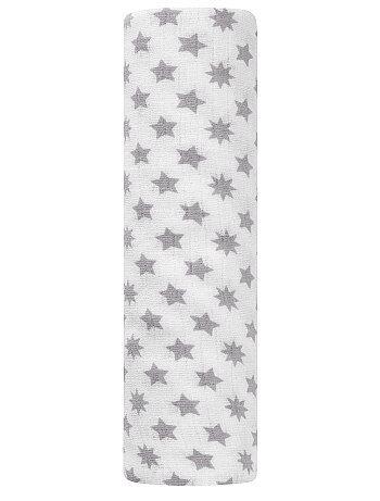 Maxi-manta de bebé de algodón puro con estampado de fantasía - Kiabi