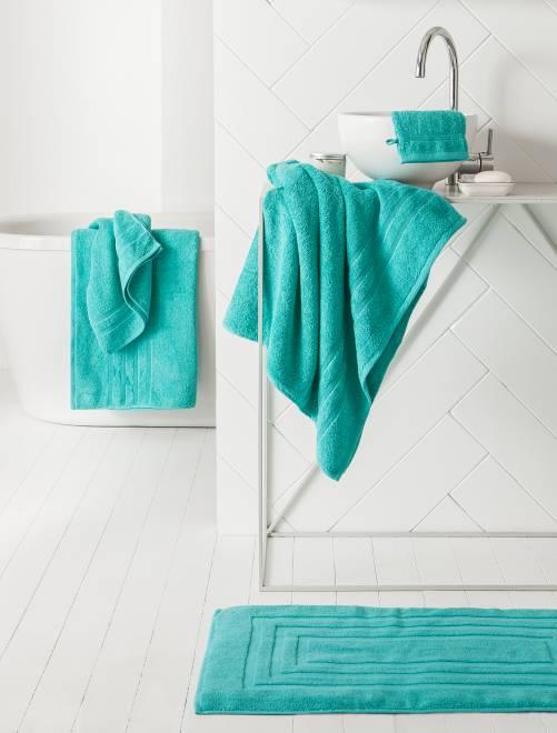 Maxi sábana de baño                                                                                                                                         AZUL