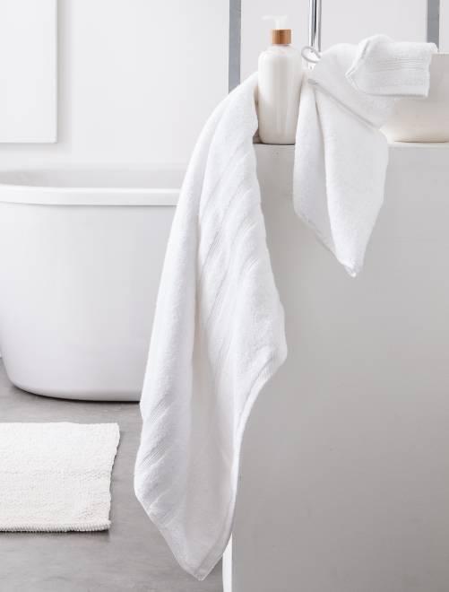 Maxi sábana de baño                                                                             blanco