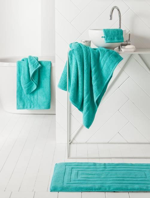 Maxi sábana de baño verde menta Hogar
