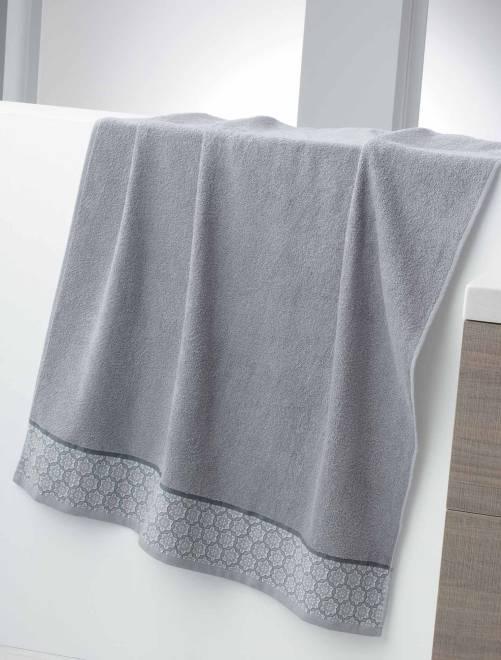Maxitoalla de baño 150 x 90 cm 450 g                             GRIS Hogar