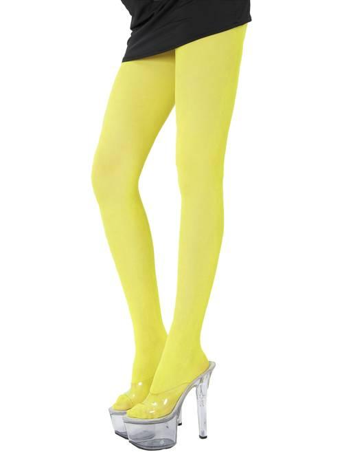 Medias                                                                             amarillo flúor