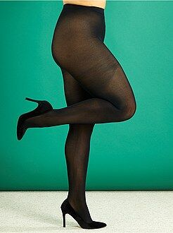 Calcetines, medias - Medias ligeras 200D tallas grandes