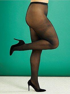 Calcetines, medias - Medias ligeras 40D tallas grandes