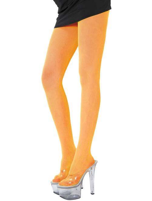 Medias                                                                             naranja Mujer