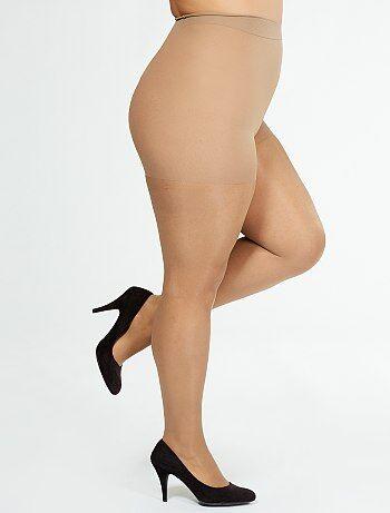 Tallas grandes mujer - Medias 'Sanpellegrino' Caresse 40D - Kiabi