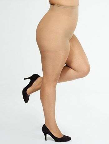 Tallas grandes mujer - Medias 'Sanpellegrino' Comodo Curvy + sizes 20D - Kiabi