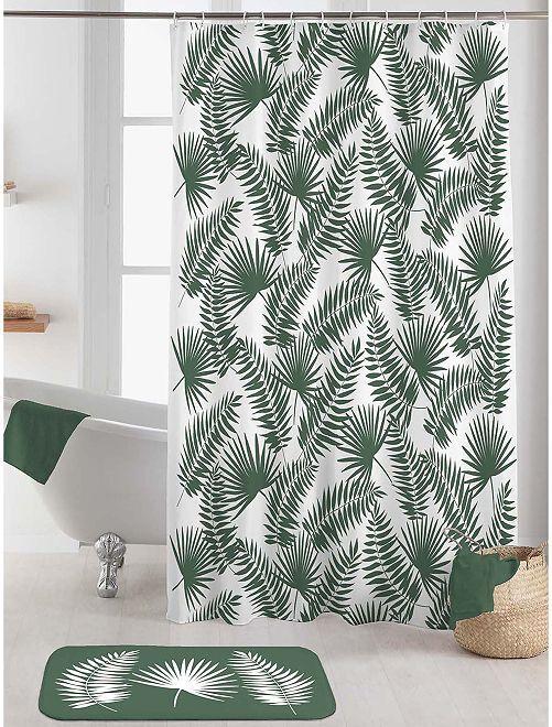 Medidas: 180 x 200 cm                                         blanco/verde