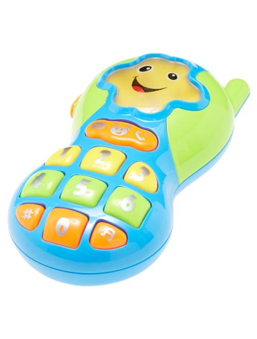 Mi primer teléfono de 'Kiokids'                             bleu/vert Bebé niña