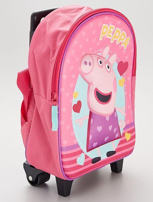 Mochila con ruedas 'Peppa Pig'                             rosa