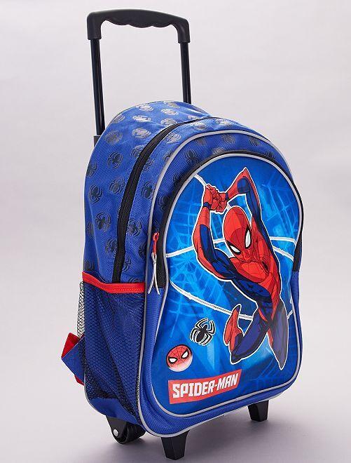 Mochila con ruedas 'Spider-Man' 'Marvel'                             azul