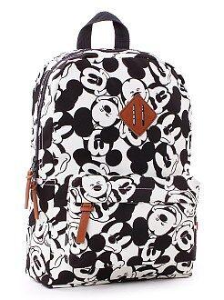 Mochila , avental de escola - Mochila mediana 'Mickey'