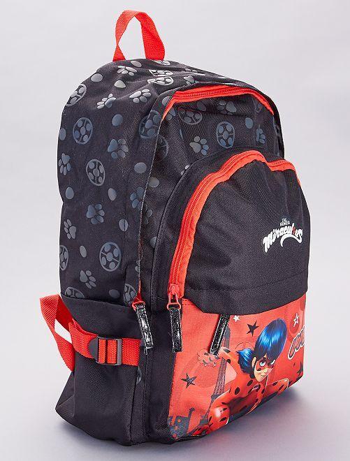 Mochila 'Miraculous Ladybug'                             rojo/negro