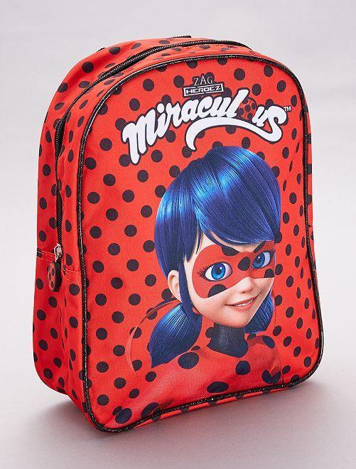 Mochila 'Miraculous'                             rojo Chica