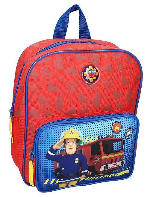 Mochila 'Sam el bombero'                             azul/rojo