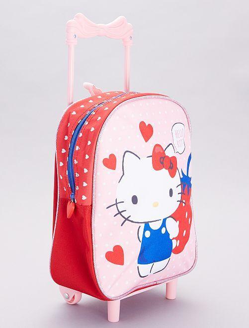 Mochila trolley 'Hello Kitty'                             rosa