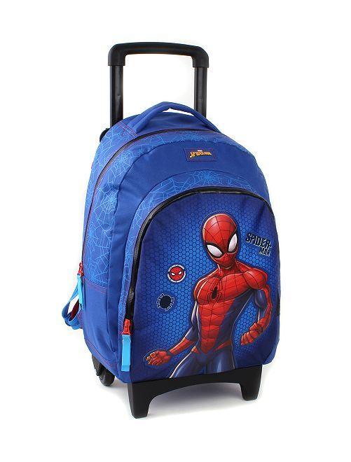 Mochila trolley 'Spiderman'                             azul/rojo Chico