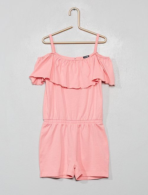 Mono corto bardot                                                                 rosa claro