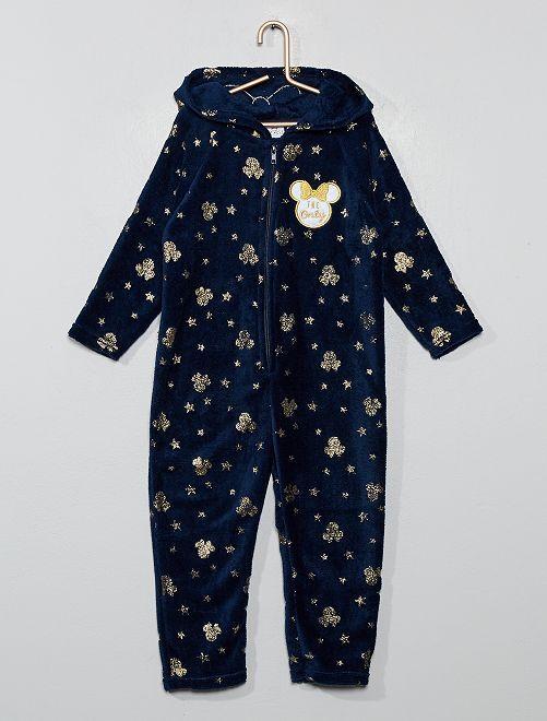 Mono de pijama 'Minnie'                     azul marino