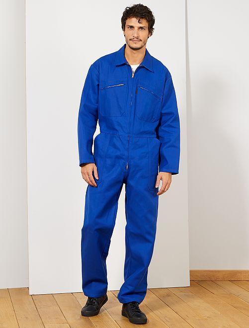 Mono de trabajo                             azul