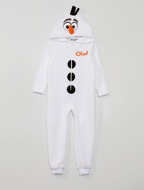 Mono 'Olaf' 'Frozen' 'Disney'                             blanco