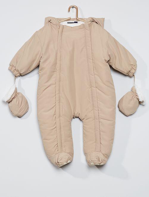 Mono 'oso'                                                     beige