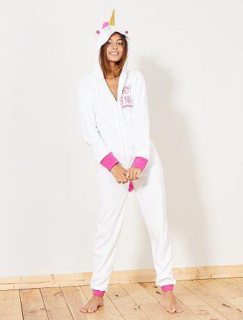 Mono pijama de unicornio - Kiabi