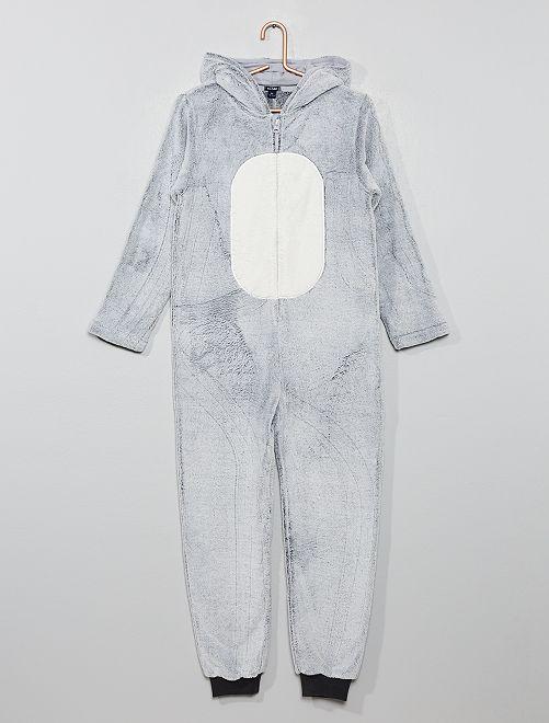 Mono polar de animal                                         BLANCO