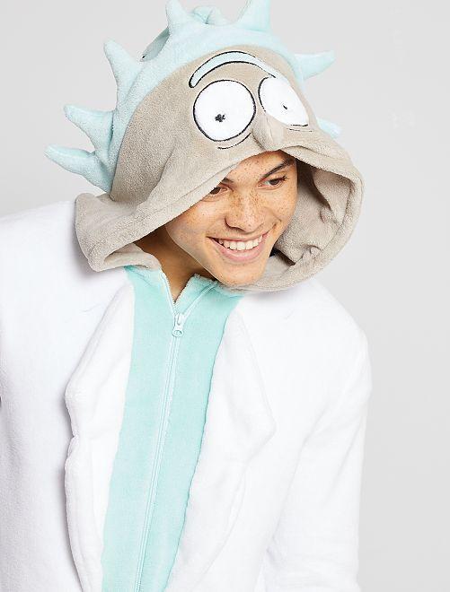 Mono polar 'Rick y Morty'                             BLANCO