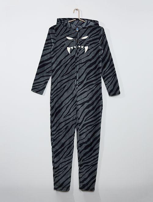 Mono polar 'tigre'                             negro