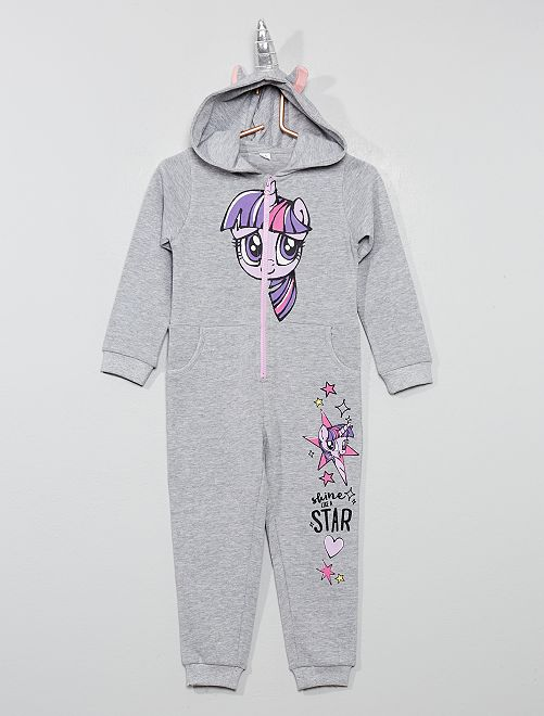 Mono unicornio 'My Little Pony'                             gris