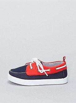 Zapatos bebé - Náuticos de tela - Kiabi