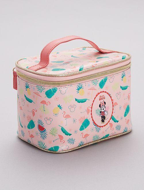 Neceser tipo maletín con estampado exótico 'Minnie'                                         ROSA Chica