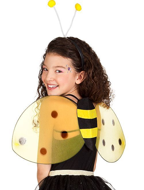 Pack alas + diadema animal                                         abeja