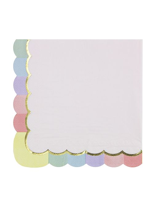 Pack de 16 servilletas de papel                             BEIGE
