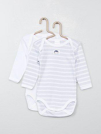 55ae0c068 Rebajas bodies mangas largas bebé niña baratos | moda Bebé niña | Kiabi