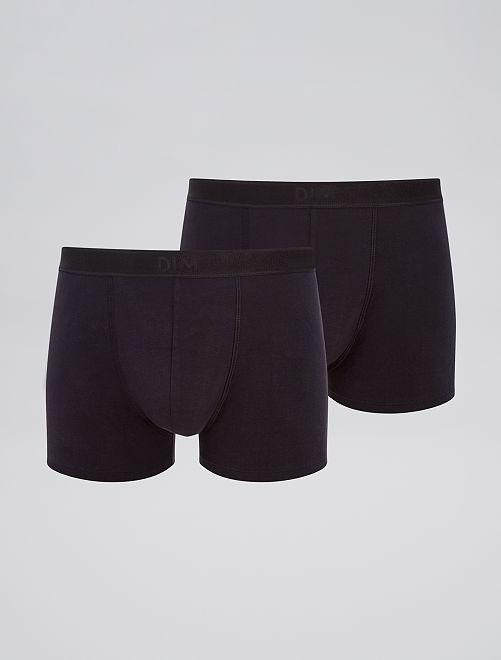 Pack de 2 boxers 'DIM' soft power                                         NEGRO