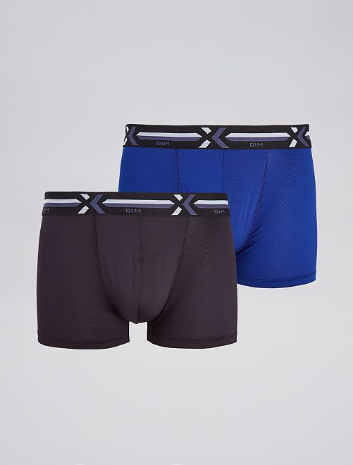 Pack de 2 boxers 'Dim' X-Temp                                         NEGRO