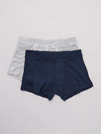 22477e6749ce Pack de 2 boxers 'eco-concepción' - Kiabi