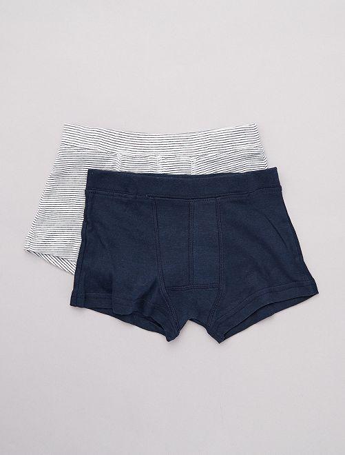 Pack de 2 boxers 'eco-concepción'                                         BLANCO