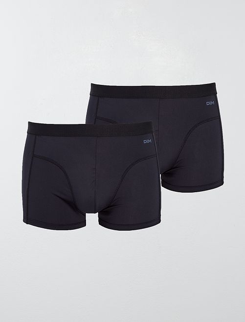 Pack de 2 boxers 'EcoDim' de 'DIM'                             NEGRO